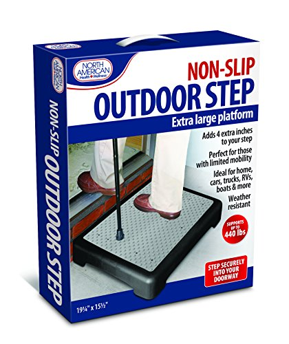 "North American Health Wellness Mobility Step, Large 9.25 x 5.5"" x 3.94"", One Color"